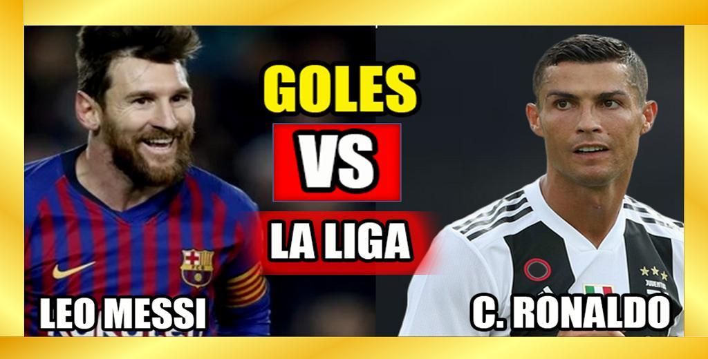 Lionel Messi vs Cristiano Ronaldo  QUIÉN TIENE MÁS GOLES? QUIÉN TIENE MEJOR PROMEDIO DE GOL ENLA LIGA? LA COMPARACIÓN DEFINITIVA   Mírala aquí ►https://youtu.be/-65dR5WMB-U   #Messi600 #Messi #LionelMessi #messigoat #Barcelona #ChampionsLeague #LaLigaSantander #CR7 #CristianoRonaldo