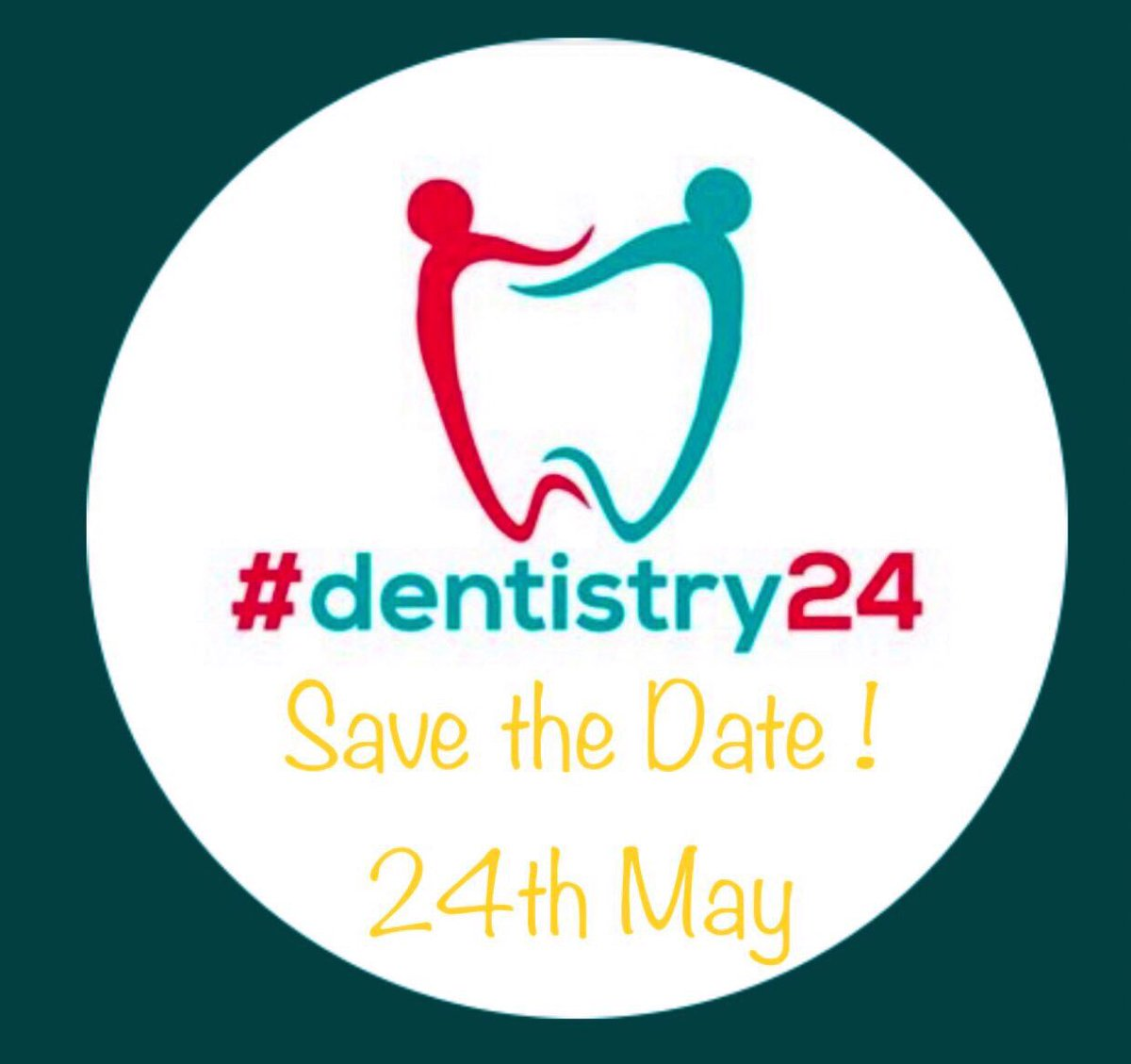 Less than 24hours to go to #Dentistry24 ...Celebrating the Good Work of the #DentalProfession . #Tweet #Insta . #Thank #Celebrate #Share #Collaborate .......