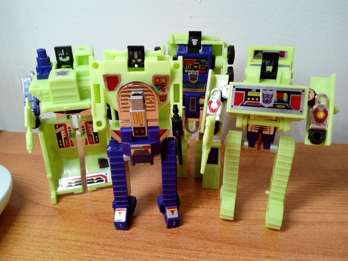 Constructicons - the story so far... #transformers #deskbot