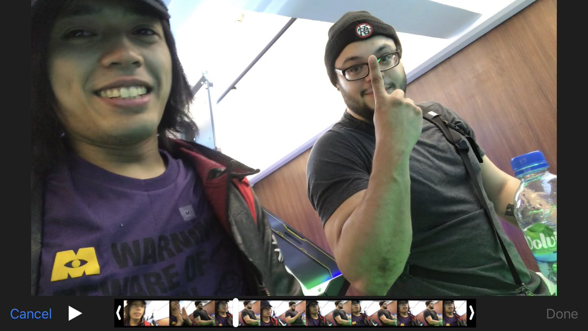 Met one of my top 5 inspiration again and now it's the one and only @SavinTheBees !!! One the peeps who makes social media fun to use because of him posting dem memes but overall a wonderful guy in real life. Gonna upload a blog of us soon! We're playing Guilty Gear btw <br>http://pic.twitter.com/wsWwFcgVhe