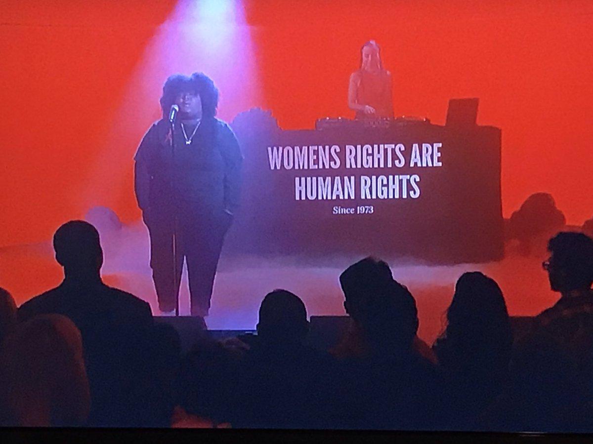 Hell yeah!  @oranicuhh @LenaWaithe @jimmykimmel @JimmyKimmelLive #WomensRights #WomensRightsAreHumanRights #WomensReproductiveRights #RoeVsWade #HumanRights<br>http://pic.twitter.com/T2Kei9lPJQ