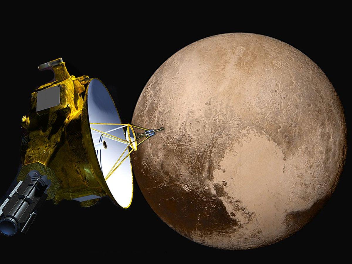 знаете, космический аппарат новые горизонты фото забрали