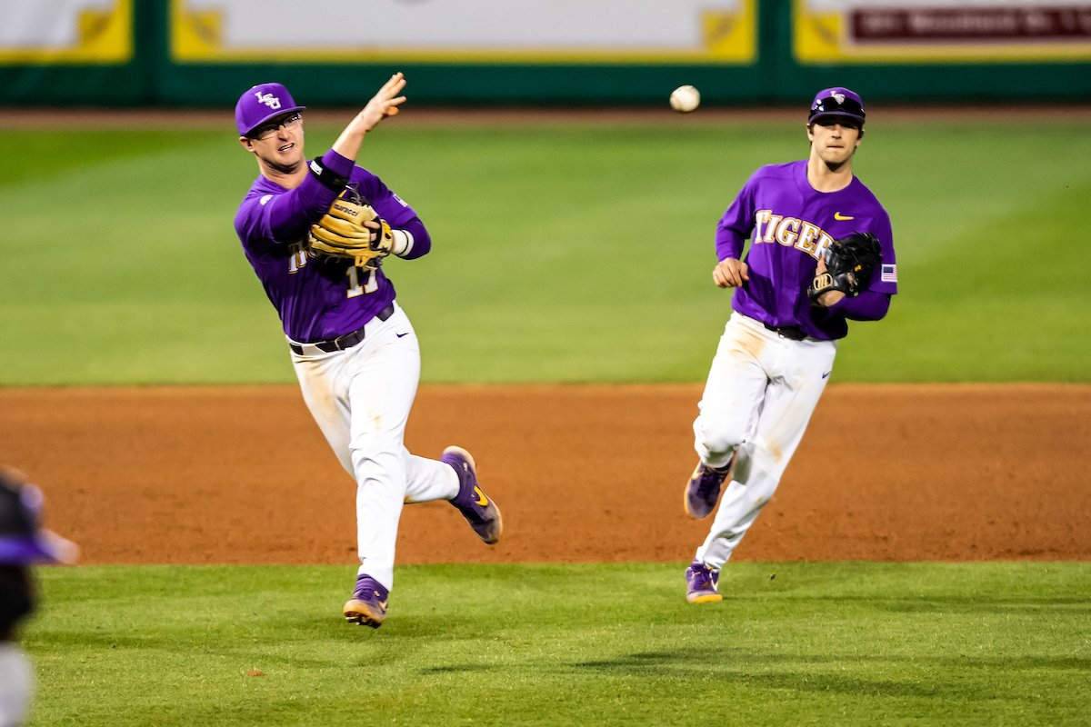 LSU Baseball's photo on Chris Reid
