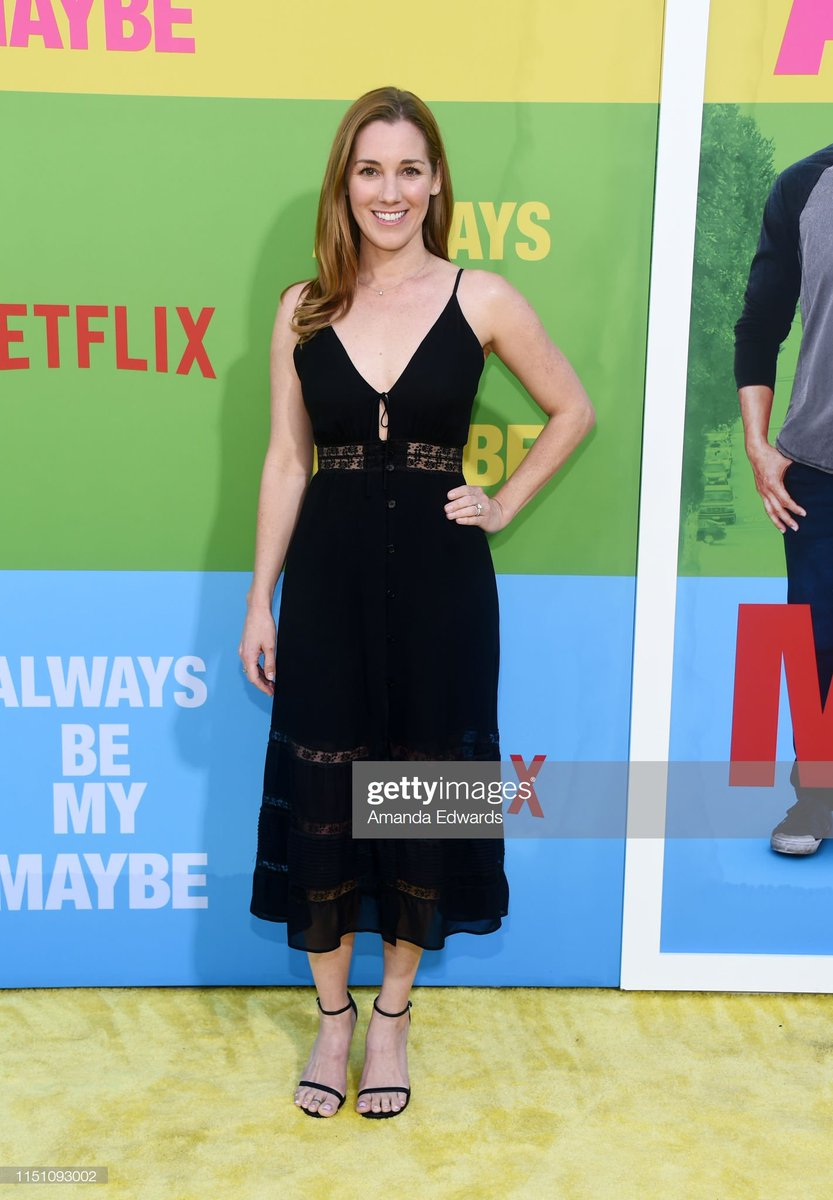 @carly_craig looked lovely at the #AlwaysBeMyMaybe premiere