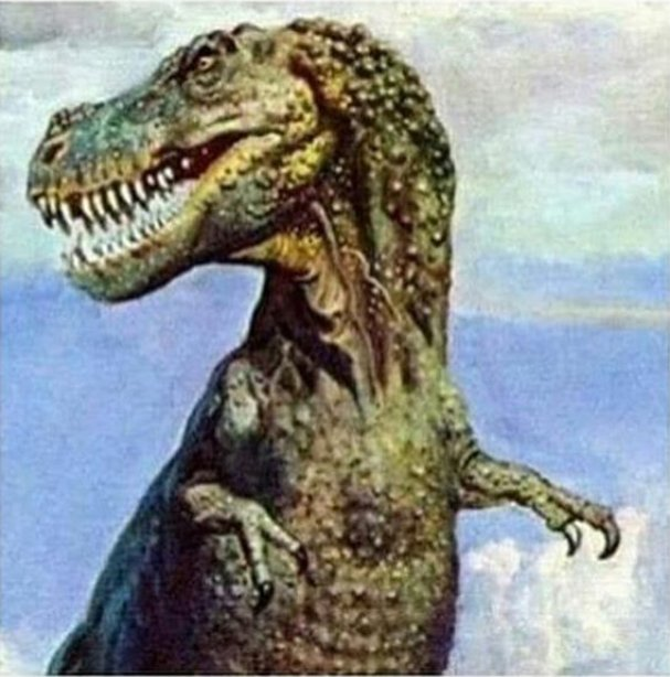 Why dinosaur can&#39;t clap their hand?  Cause they are dead<br>http://pic.twitter.com/9eFQEqZ8Eq