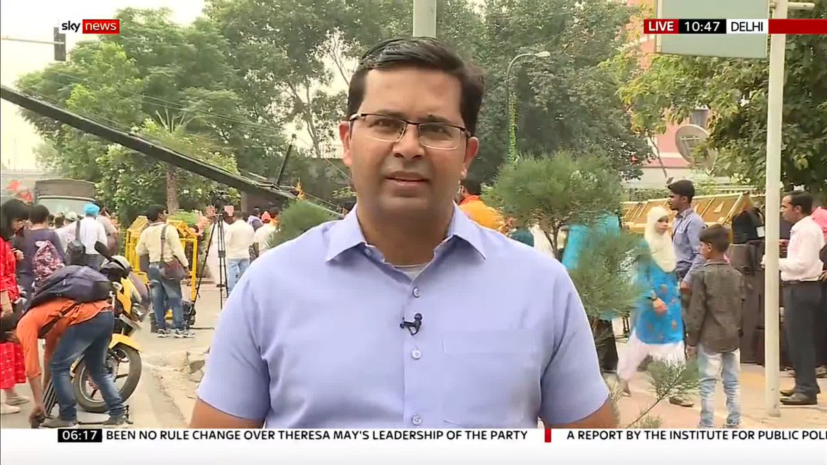 Counting is underway in the #IndiaElection2019. 🇮🇳  Sky's @nevilleskynews has the latest on what the trends currently reveal.   Find out what else is happening across the world here 🌏: https://news.sky.com/world