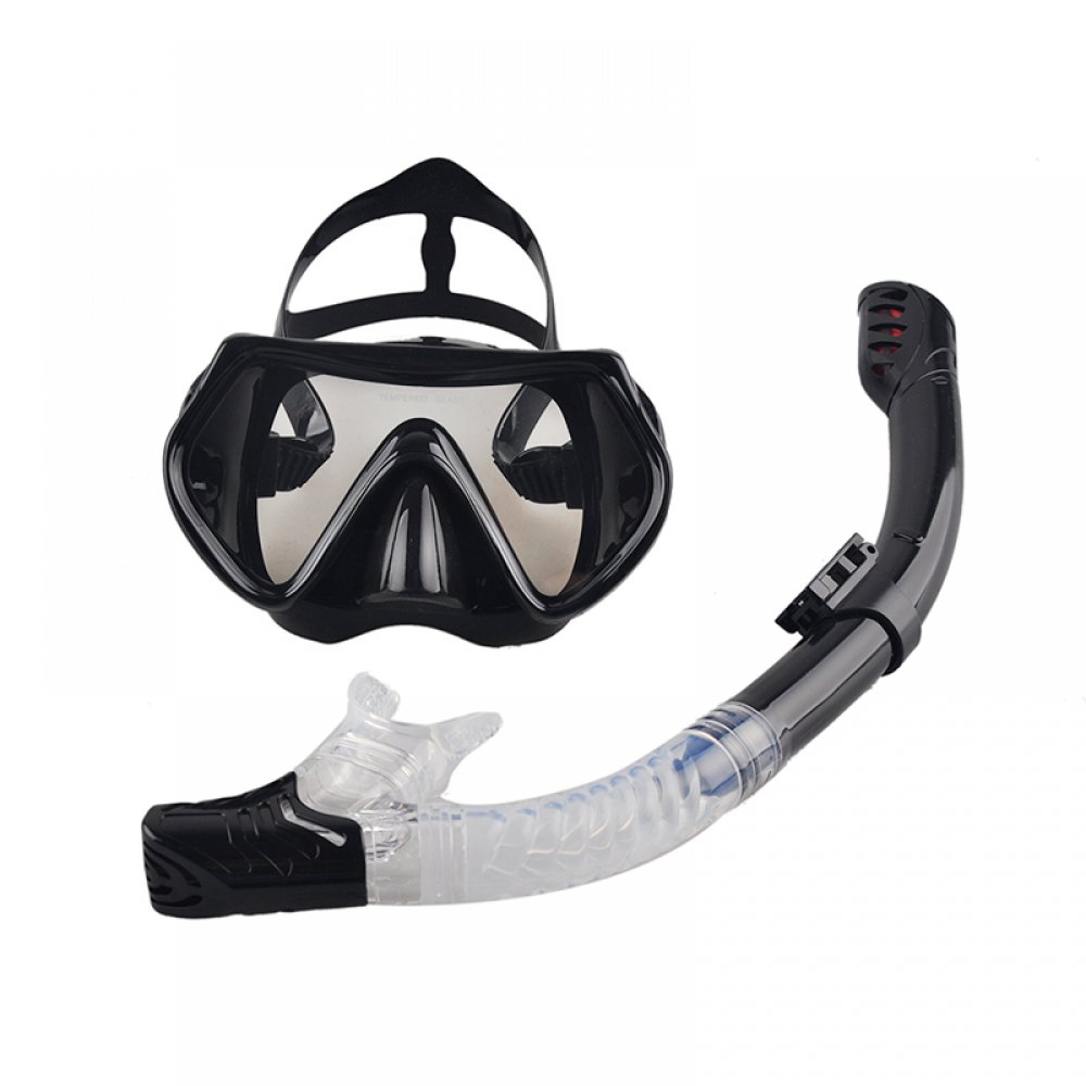 #swimming #yoga Anti-Fog Diving Mask with Dry Snorkel