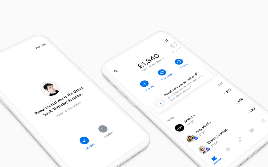 Revolut launches Group Vaults as an alternative to joint accounts https://tcrn.ch/2VXEORf by @romaindillet