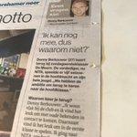 In #ADUN: Denny Berkouwer keert terug @DeMeernZo1. 'Ik kan nog mee, dus waarom niet?'