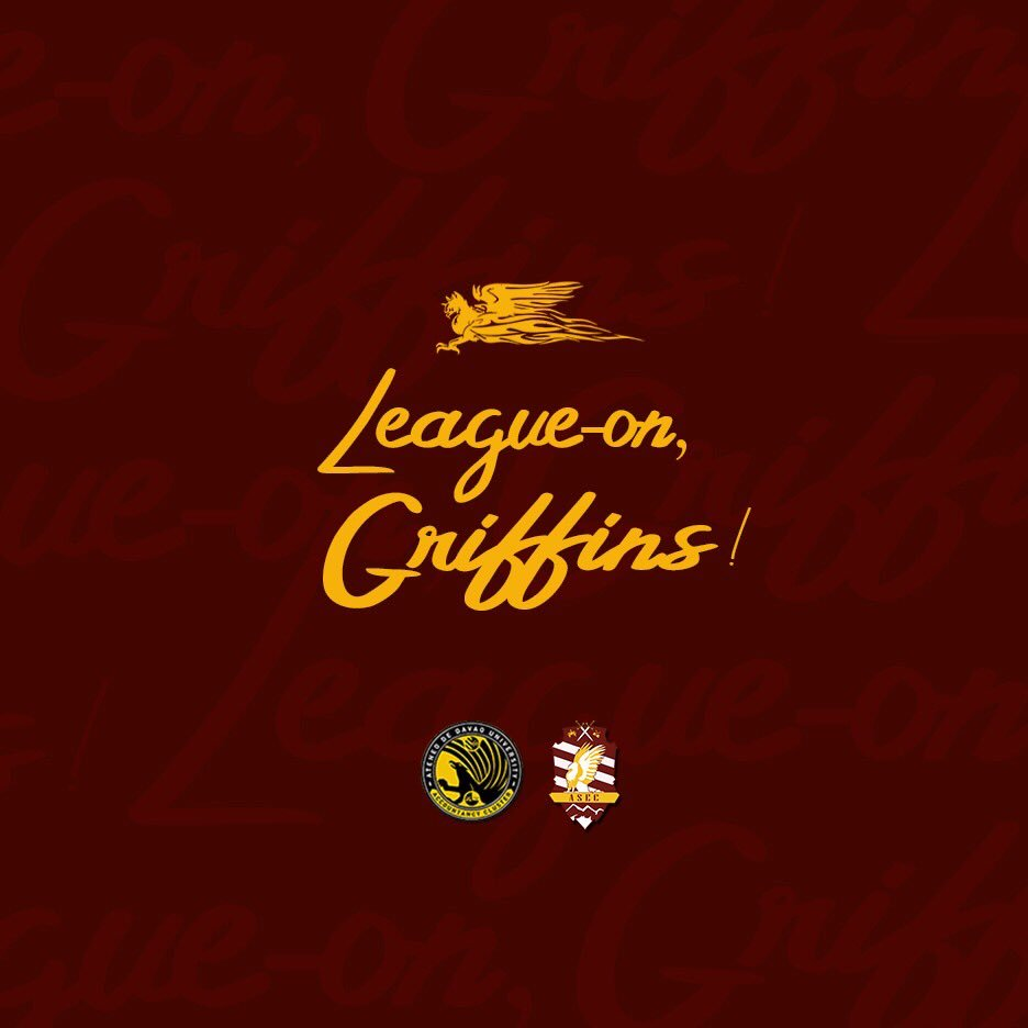 LOOK: ASEC's newest branding for AY 2019-2020. Griffins, Are you Ready? <br>http://pic.twitter.com/J9AElGoSfE