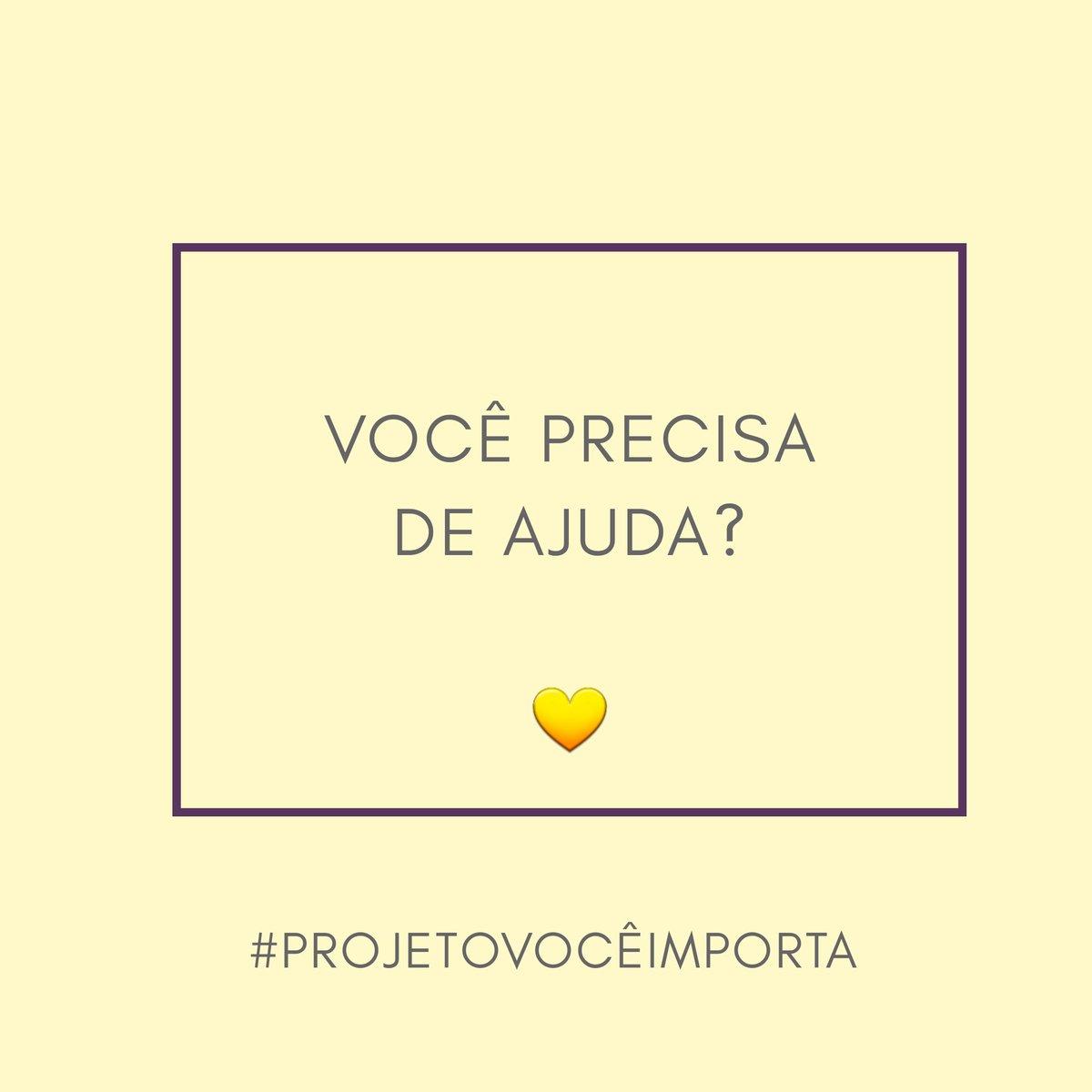 Bom dia pra você 💛  #ProjetoVocêImporta #SaúdeMental #PrevençãodoSuicídio #EquipeDeApoio