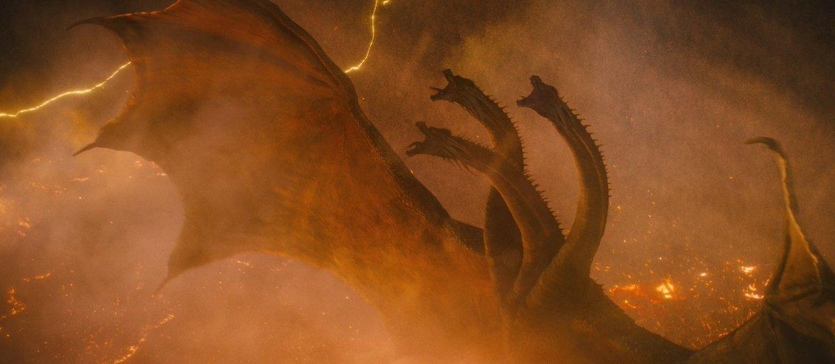They all respond to an alpha. #GodzillaMovie