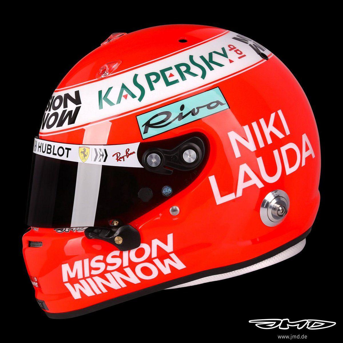 セバスチャン・ベッテル、F1モナコGPでニキ・ラウダ追悼ヘルメット https://f1-gate.com/vettel/f1_49410.html…  #F1 | #F1jp | #SebastianVettel | #Ferrari | #NikiLauda | #MonacoGP 🇲🇨