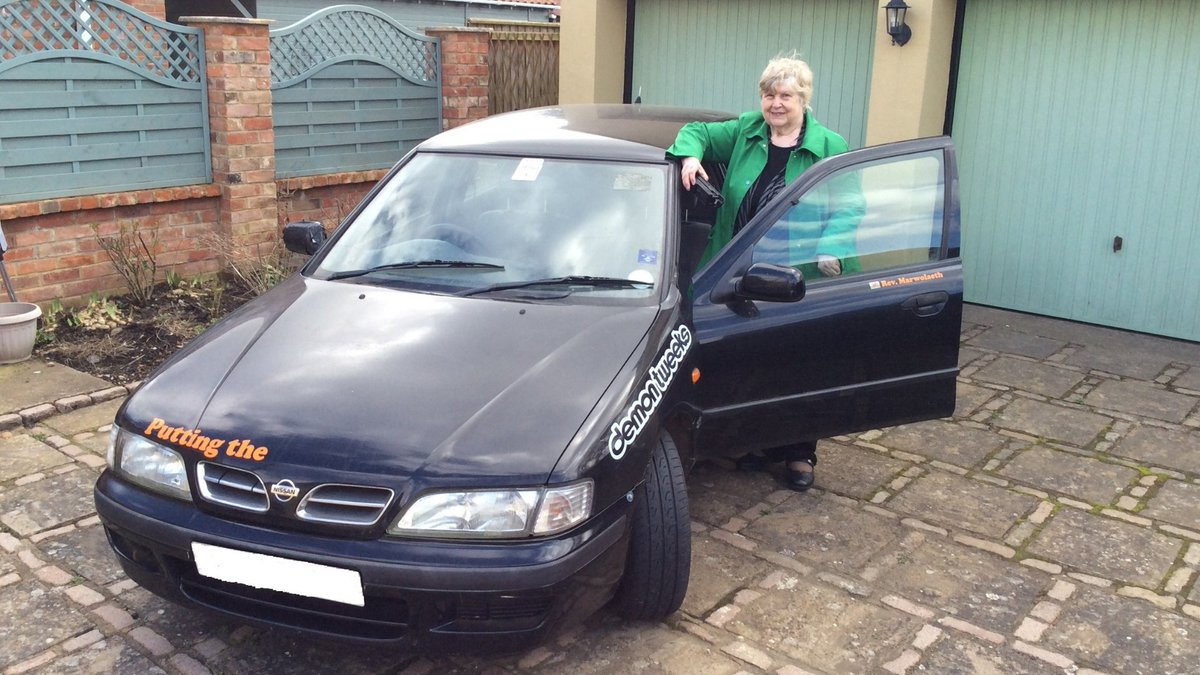 Wishing Carolyn Corliss the best of luck! The 76-year-old is driving a dragon around #Europe for us! Read her story here https://bit.ly/2vwVgIs #charity #Lincs #Lincolnshire @actionmedres