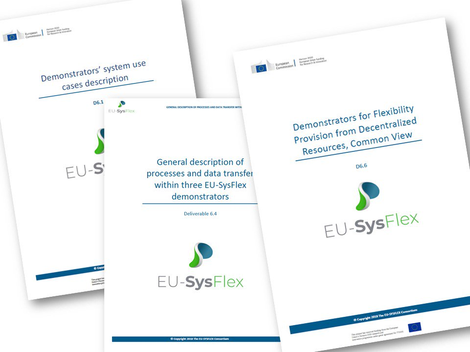 @innogy #MITNETZSTROM @EDistribuzione and @EnergiaHelen have designed innovative approaches to enhance DSO-TSO coordination and to catalyze decentralized #flexibilities exploitation.This and much more in our new deliverables:http://eu-sysflex.com/documents/  #EUSysFlex #smartgrids #europe