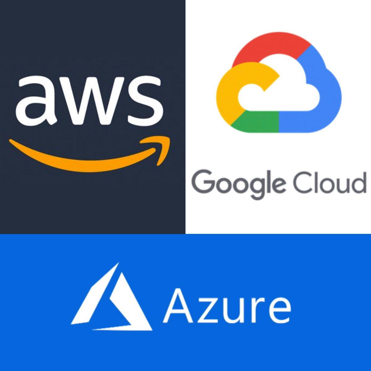 So which one of the big 3 in #cloud #computing do you use? or do you prefer another provider? We want to know. • • • • • #exo #exoplanet #itsupport #tech #technology #aws #googlecloud #linux #devops #programmer #code #coding #webdesign #webdevelopment #question #time