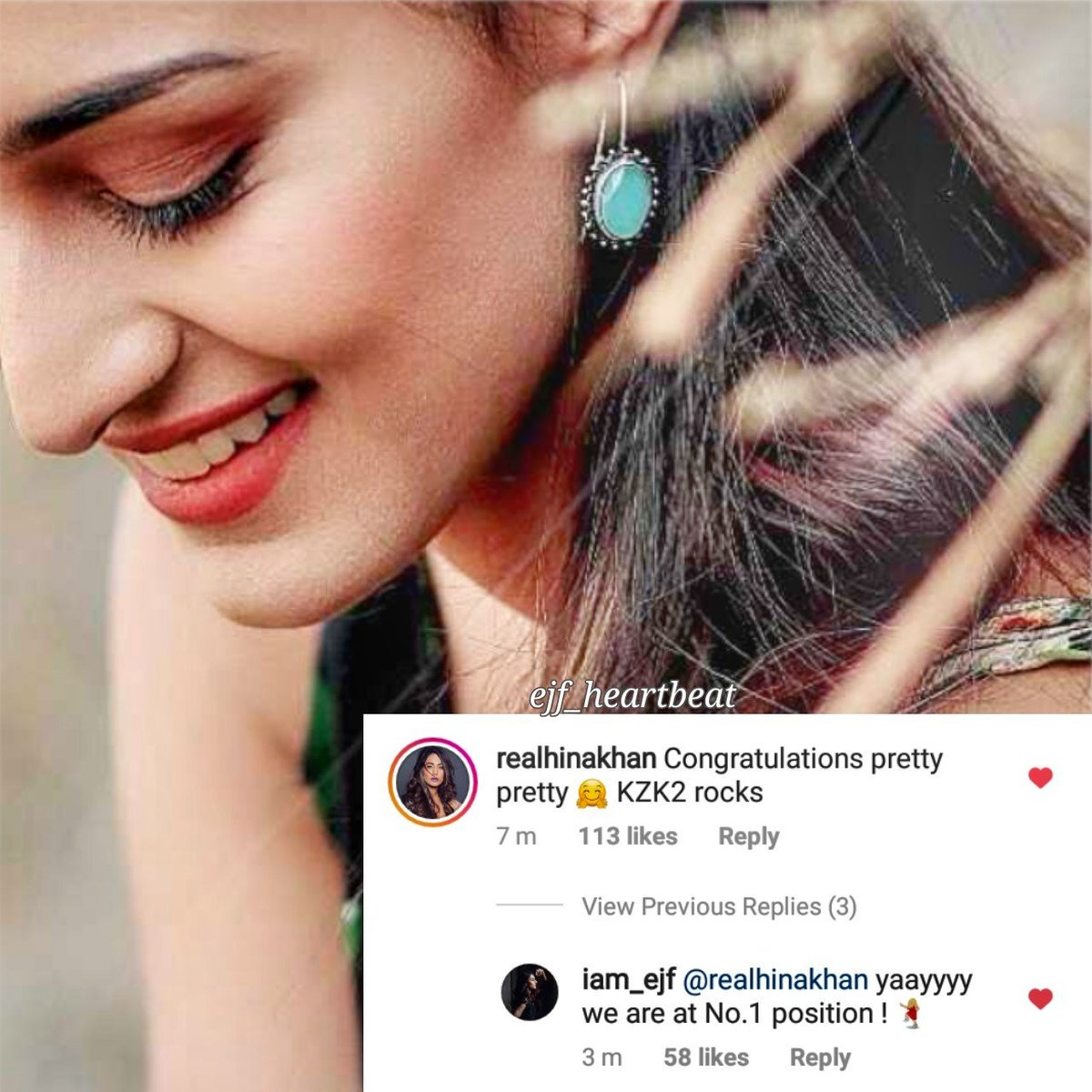Congratulations To The Entire Team Of #KasautiiZindagiiKay For Been On No.1 Position !!   @eyehinakhan @IamEJF comment and reply   #PrernaSharmaBasu #EricaFernandes #EjF #HinaKhan #Komolika #Prelika<br>http://pic.twitter.com/gdscdIA3wd