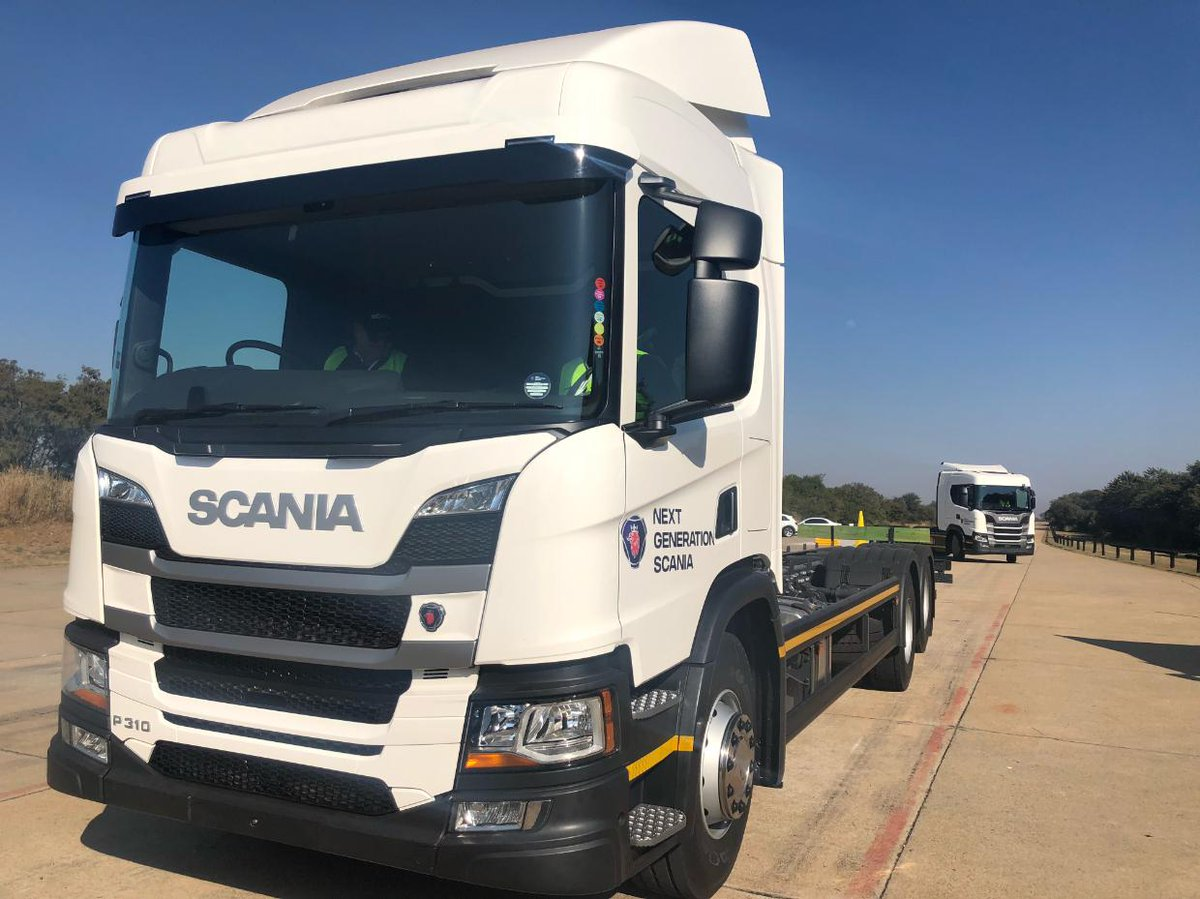 97ced714 First test of the day is a dynamic handling session. The P250, P310 and  G460 6x2s all proving nimble and easy to handle. #NextGenScania  pic.twitter.com/ ...