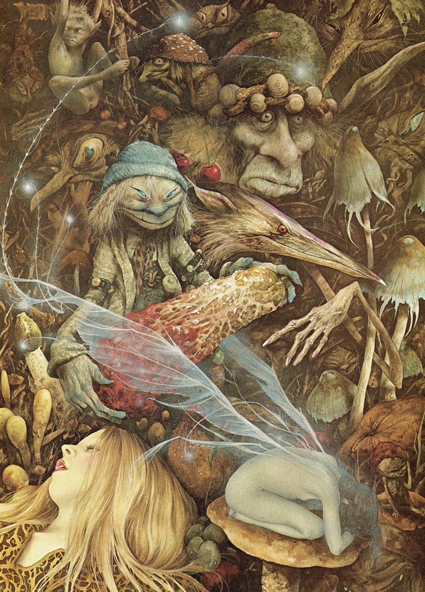 For #FolkloreThursday: fairies in legend, lore, and literature, with art by @brianfroud, @alanlee,  @DavidWyattArt, and others.  https://www. terriwindling.com/folklore/fairi es.html &nbsp; … <br>http://pic.twitter.com/rBPV6r2I2P