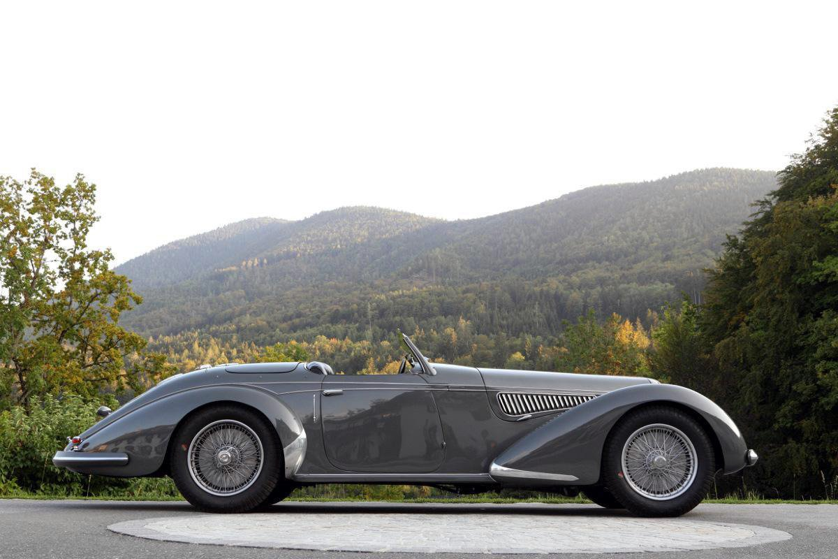 1938 Alfa Romeo 8C 2900B Touring Spider Lungo <br>http://pic.twitter.com/OoPX5YJGAA