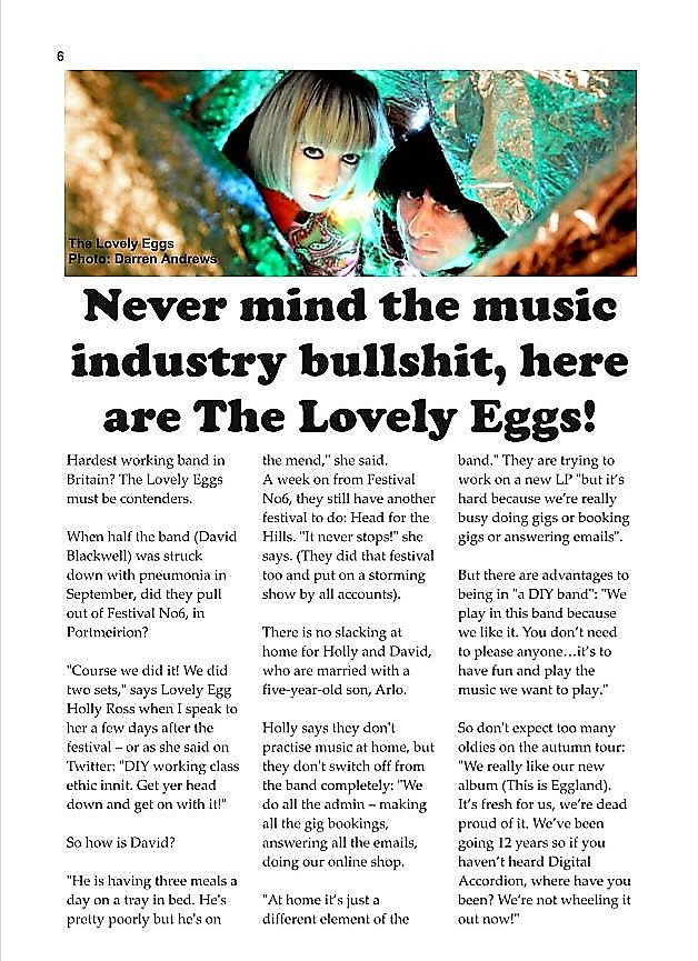 Autumn Is Almost Here Get Out Eggs >> The Lovely Eggs Thelovelyeggs Twitter