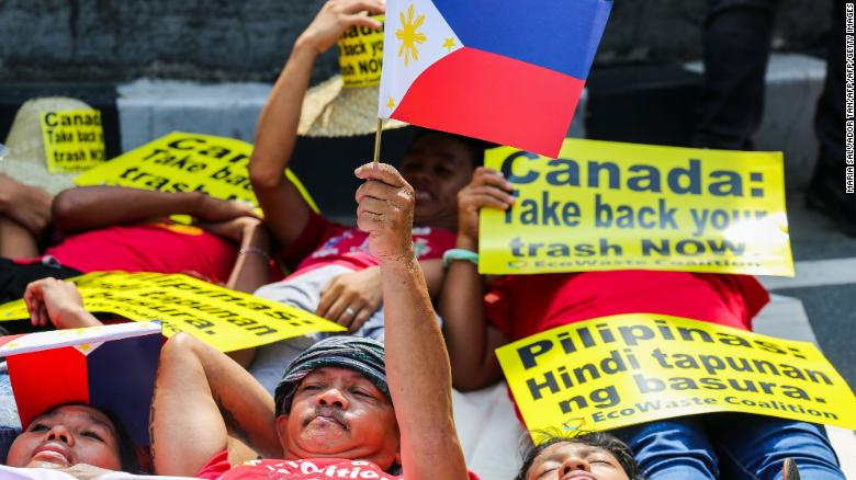 Canada will haul back mountains of trash it sent to the Philippines years ago cnn.it/2HSwKXN