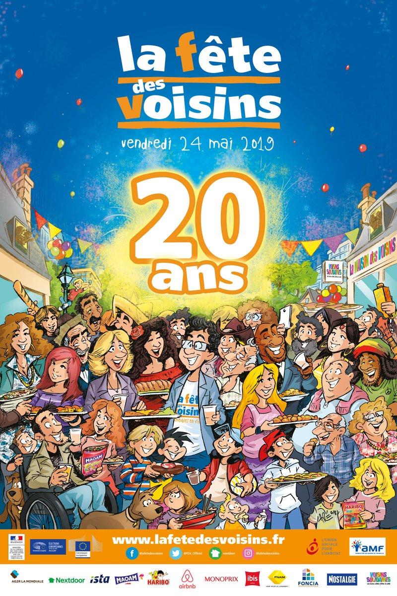 On n'oublie pas, la fête des voisins, c'est ce soir dans les quartiers de #Lormont ! #FêteDesVoisins #Gironde #Bordeaux #voisins #fête #tousensemble #NouvelleAquitaine https://t.co/3ZWi82yW3N
