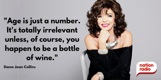 Happy Birthday Dame Joan Collins, she\s 86 today!
