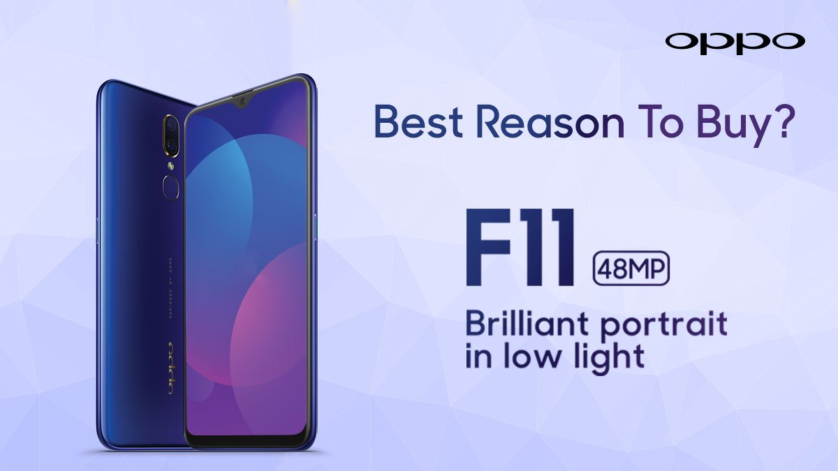 #OPPOF11 is equipped with incredible features and stunning design. Why is F11 the best buy for you? Share with us one reason to own an F11 and get a chance to win it! Share it in comments below with the hashtag #BestBuyF11 #OPPOF11. Lets get started! #OPPOPakistan