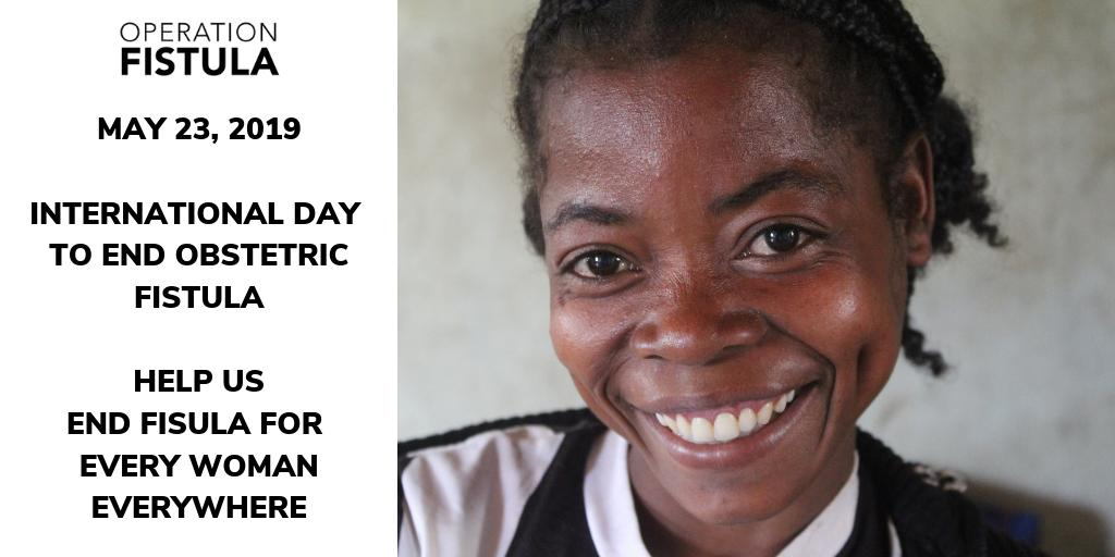 64a64048d Join us in our work #EndFistula for #EveryWomanEverywhere.  #Obstetricfistula is both preventable and treatable. It persists because of  a systemic failure to ...