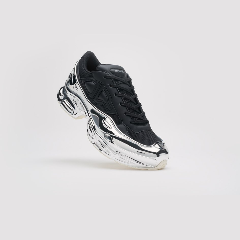 ef890999 Shop the black @adidas BY Raf Simons Ozweego Sneakers online & in-store  now: http://bit.ly/NewAdidasbyRafSimons … Brand new Adidas by Raf Simons in  three ...
