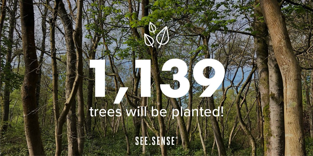 Thanks to the cycling community we got up this morning to see our Tree Sense campaign fully funded with over 1,000 trees to be planted! Amazing 🌳  Thank you to everyone for your support! Now let's see how many more trees we can plant...  🍃 Tree Sense: http://bit.ly/2YM6vJD