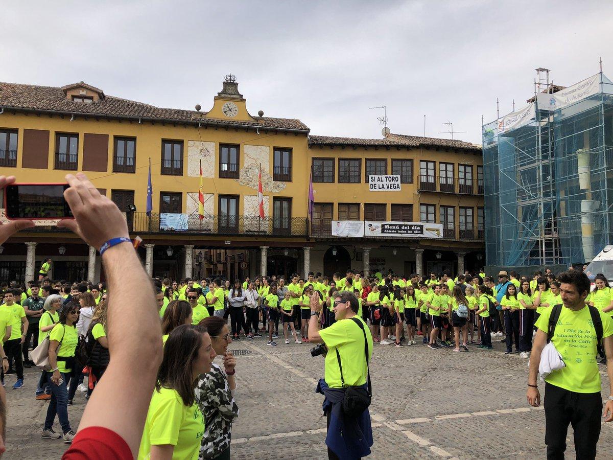 -> MDC Noticias | #Tordesillas acoge hoy el 'Día de la Educación Física en la Calle'