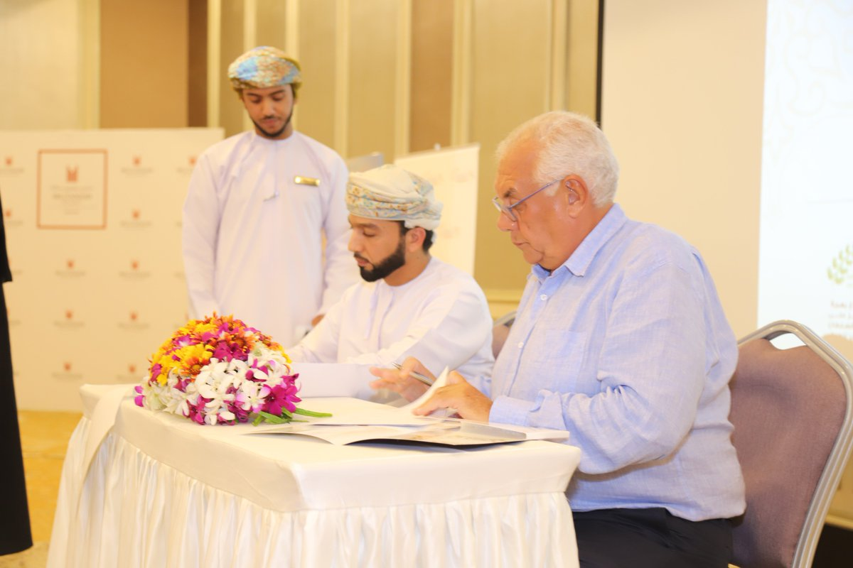 Under the Patronage of H.E. Sayyid Mohammed bin Sultan bin Hamoud Al Busaidi, Muriya signed an agreement with Omani Bahjah Orphan Society to promote and sell products made by orphan families at our flagship destination Hawana Salalah during a weekly bazaar launching in Khareef. https://t.co/AvXIPG2kpg