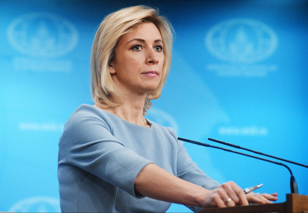 Russian MFA Spokesperson #Zakharova on #US resuming its purchases of Venezuelan oil: Just as usual. First the #US beguiles everyone to do something &amp; then makes a U-turn, while leaving behind all those who followed it<br>http://pic.twitter.com/TnQ68nPk7c
