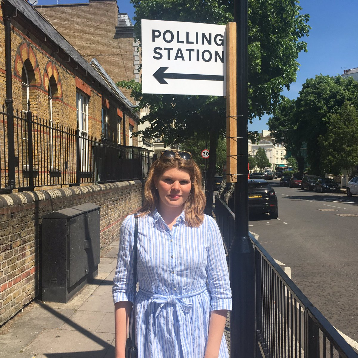 """I was just #DeniedMyVote, despite being a registered #EU citizen. At the polling station my #British husband gets the ballot while I am simply told: """"Vote in your own country!"""" @lisaocarroll @thatginamiller #EuropeanElection2019"""