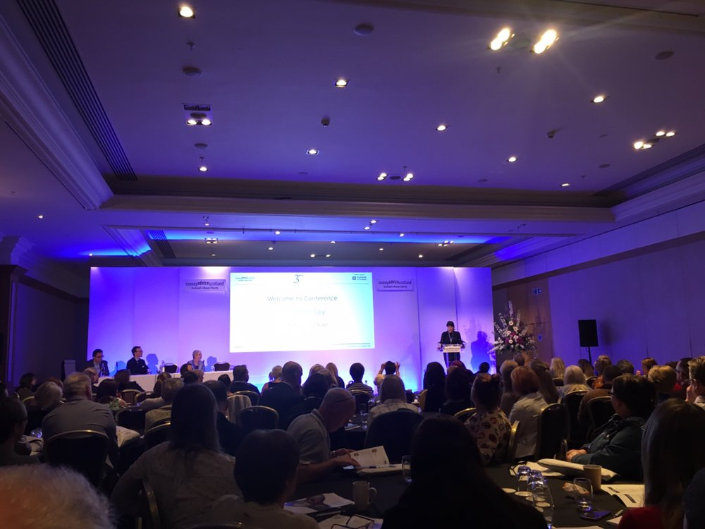 Follow the action from @moneyadvicescot's conference today and tomorrow using #MAS30
