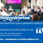 Image for the Tweet beginning: Moi Suomen Turku! Tulemme tapaamaan