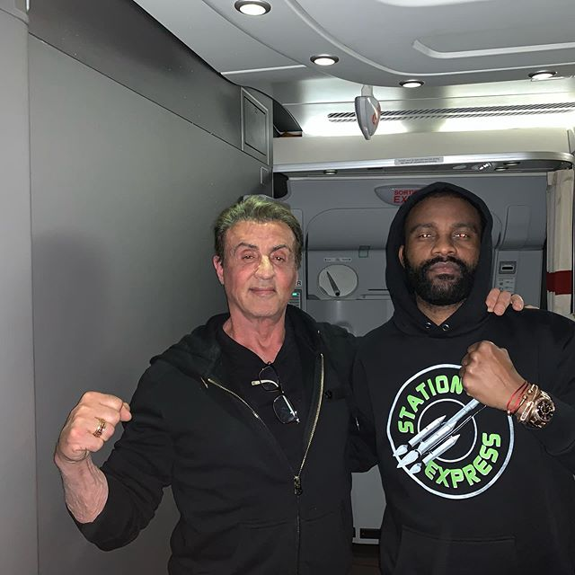 With The Champ Balboa  @TheSlyStallone <br>http://pic.twitter.com/VGAQj2d4Ra