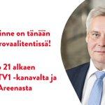 Image for the Tweet beginning: SDP:n puheenjohtaja @AnttiRinnepj on tänään