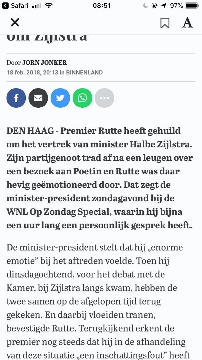 OMAnita🍼💙💙's photo on Rutte