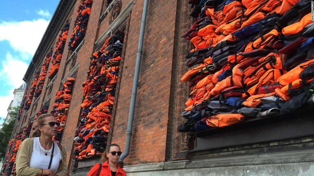 Ai Weiwei sues Volkswagen over use of refugee lifejacket artwork in ad cnn.it/2VVyzxc