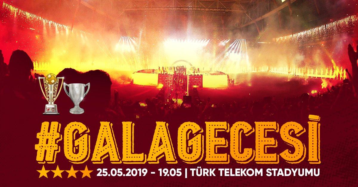 #GalaGecesi 19.05'te Türk Telekom Stadyumu'ndaDetaylar için https://www.galatasaray.org/haber/turk-telekom-stadyumu/sezonun-finali-19-05te-turk-telekom-stadyumunda/44224…