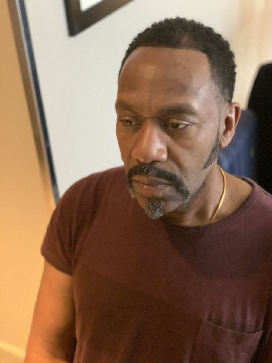 Lenny Henry On Twitter Elmore Hair By Dele Press Night Tonight Big Up King Hedley Ii Crew