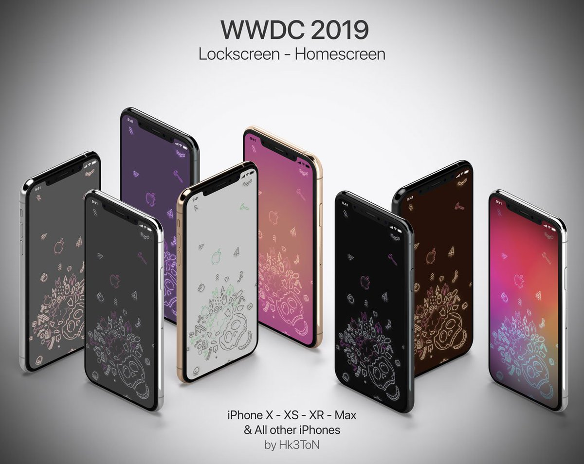 Hk3ton On Twitter Wallpapers Iphone Wwdc2019