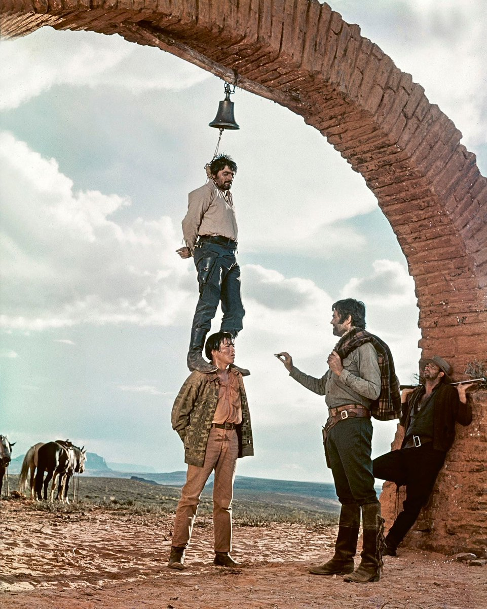 Images from photographer Angelo Novi on the set of 'Once Upon a Time in the West' over 50 years ago. https://buff.ly/2M4h3Ce #OnceUponaTimeinAlmeria #SergioLeone #ChristopherFrayling #SpaghettiWestern