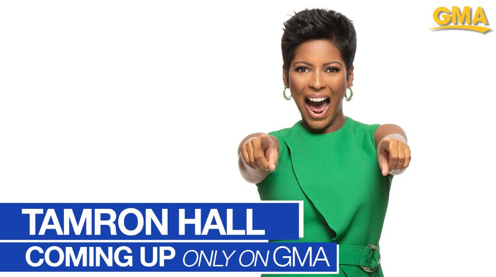 .@tamronhall is sharing her inspiring story on @GMA TODAY!