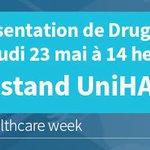 Image for the Tweet beginning: Présentation de Drugcam par la