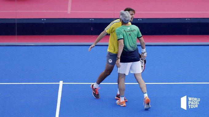 Capra y Lamperti vencieron en su duelo de octavos del Jaén Open