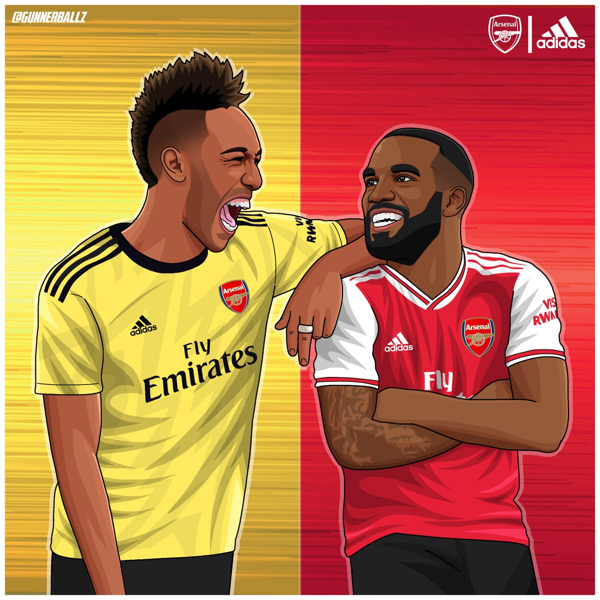 Adidas have absolutely smashed it out of the park with these new kits! Pure fire!   Likes and rts greatly appreciated!   #arsenal #afc #aubameyang #lacazette #adidas #adidasarsenal #epl<br>http://pic.twitter.com/BrOMbj74e0